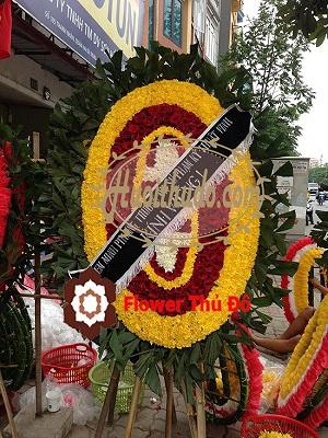 vòng hoa tang lễ 354