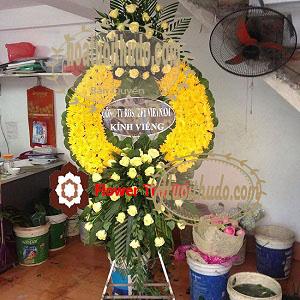 hoa hồng vàng tại số 5 trần thánh tông