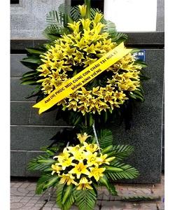 vòng hoa ly vàng kiểu sài gòn tại số 5 trần thánh tông