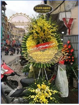 vòng hoa sài gòn tại số 5 trần thánh tông